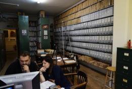 Archival research in London