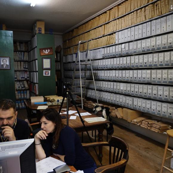 Kwerenda do archiwów wLondynie