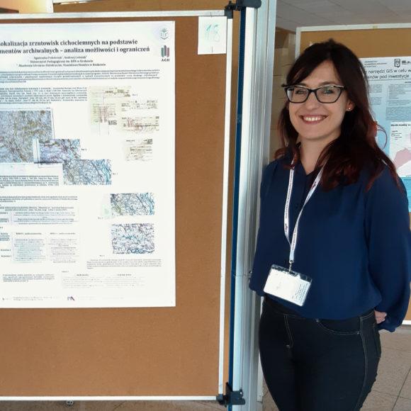 """Uczestnictwo w konferencji """"GIS w Nauce"""""""